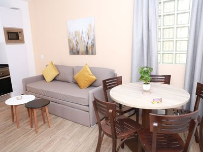 Photo for Interior two bedroom apartment for 5 people