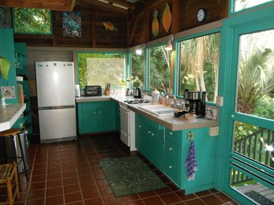 spacious fully equiped kitchen