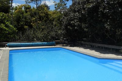 10m fenced pool for guests