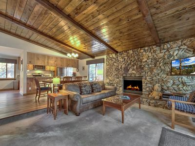 Photo for WIFI,SAT.TV/GARAGE/ FORESTED QUIET LOCATION! HEAVENLY,LAKE,HIKING,CASINOS NEAR!