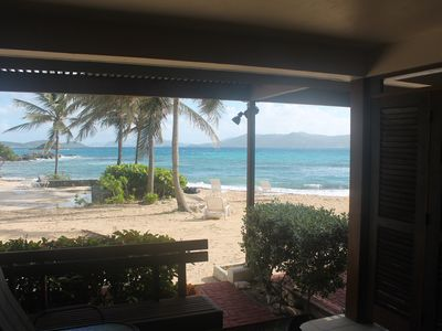 Photo for DIRECTLY ON SAPPHIRE BEACH!!! FREE CAR INCLUDED !!ISPECTACULAR VIEWS GREAT VALUE