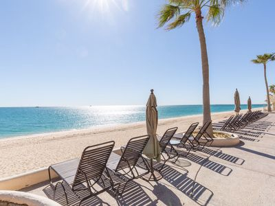 Photo for Ground floor condo, walk out to pool amenities of the Sonoran Sea