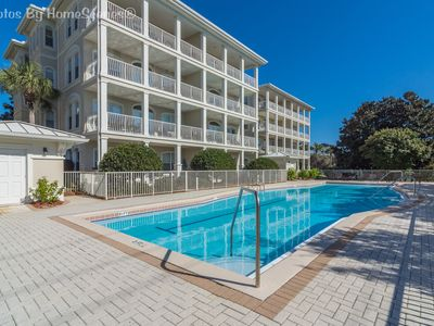 Photo for Villas at Seagrove 'Sunshine Sabbatical' 3BR Condo Sleeps 6 Heated Pool