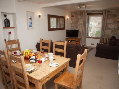 Photo for Cape Cottage - Central St Ives - Sleeps 6 - Off Site Parking