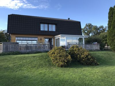 Photo for Villa with amazing view and a big garden. SPA-pool on porch.