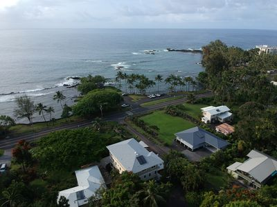 Photo for Best Hilo Beach Park House. 6 Bdr/5 Baths. Sleeps 20. New at Richardson's Park.