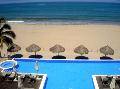 Spectacular View from Terrace with Exclusive Private Beach, Pool, and Jacuzzi