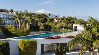 Photo for Design apartment with Mount Teide and sea views