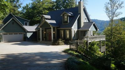 Photo for Asheville-Million Dollar Views, Hot Tub, Theatre Room, Billiards, Sleeps 16