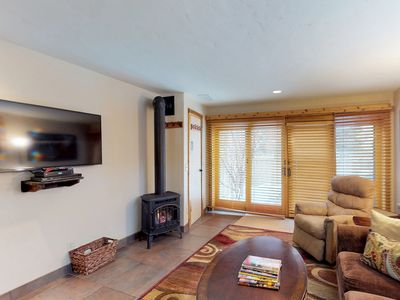 Photo for Updated townhome w/Mt. Baldy views located by River Run ski lifts & trails!