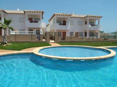 Photo for Beautiful apartment offering spacious furnished accommodation with swimming pool