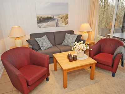 Photo for Log cabin - a few meters to the beach - log cabin - ideal for 4 people - TV in the bedroom