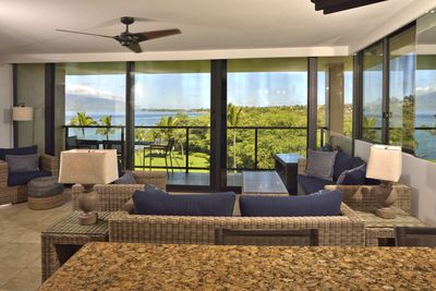 Spectacular view and new furnishings