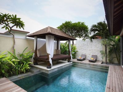 Photo for One Bedroom Villa in Berawa, Canggu, with a private plunge pool and kitchen