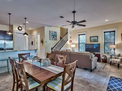 Photo for Beautiful Updated Beach Cottage! Minutes To The Beach & Gulf Place! Private Patio