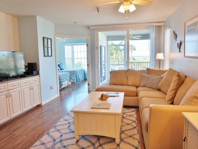 Photo for Seaside decor with a view in this first floor two bedroom superior, B3213A