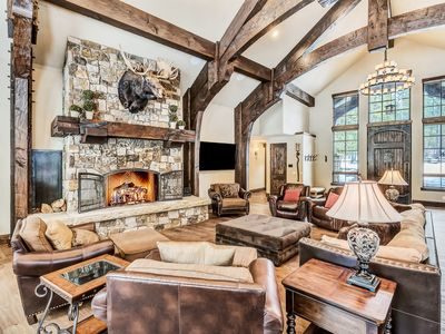 Photo for Living La Dolce Vita: Luxury 6BR w/ Lodge-Style Great Room & Private Hot Tub