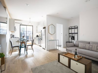 Photo for Casa Lavandula - Lux 1 Bed+Terrace 5 mins to NYC