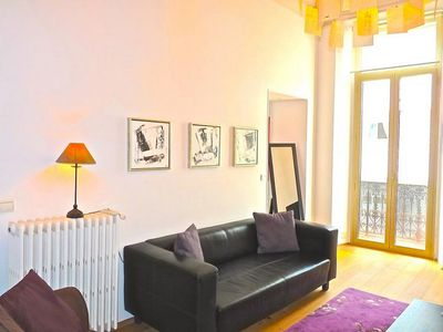 Photo for Stylish two bedroom, two bathroom apartment near Palais, beaches, restaurants