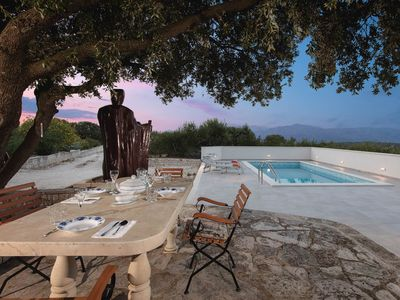 Photo for Secluded villa Dubrava with a pool
