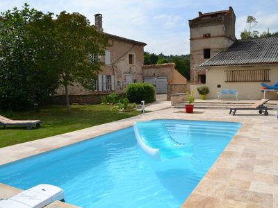 Photo for in Albi cottage *** with pool up to 6 people
