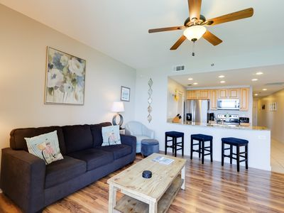 Photo for Newly remodeled high-end condo w/beach views, shared pools, gym, hot tub & more!