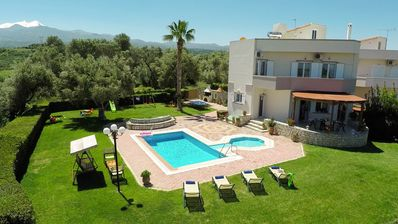 Photo for Spacious & quiet  vIlla with private pool, bbq and breathtaking view!