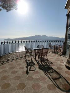 Photo for Villa Built In 1888 With Amazing Sea Views And Garden, Frescoed Ceilings.