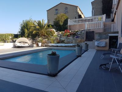 Photo for country house 300 m² heated pool Jacuzzi