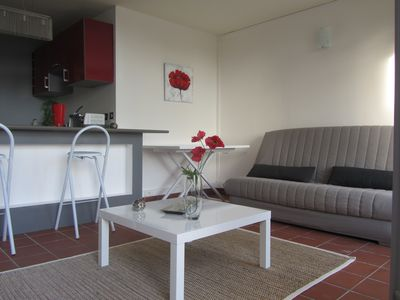 Photo for Apartment T2 standing sea view in Gosier close to beaches