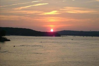 Sit Back, Relax & Enjoy The Million Dollar View at Sunset from Back Deck