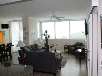 Photo for Fabulous 1 Bedroom Luxury Condominium - Steps to the Beach