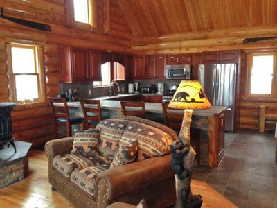Photo for 2 Wonderful Cabins Rented Together for Family Reunions