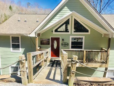 Photo for Great Blessings:9 bed/9 bath Lakefront: Private double decker dock w/slide