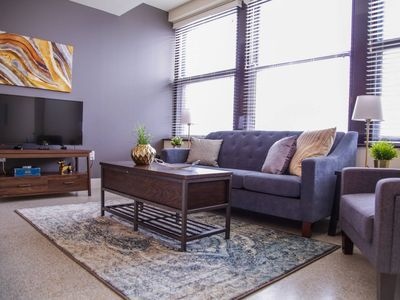 Photo for BOLD & BEAUTIFUL! DOWNTOWN 1BR NEAR MEMORIAL PARK