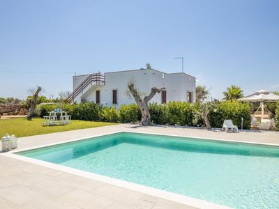 Photo for Taviano Holiday Home, Sleeps 5 with Pool, Air Con and WiFi