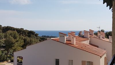 Photo for Charming 2 Room Apartment 55 m² + Terrace 17 m² - Nice Sea View