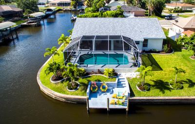 Photo for Villa Victoria located on a Gulf Access Canal