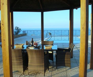 Photo for Villa Leoneva villa with a private pool, sea and mountain view  Free fast Wifi