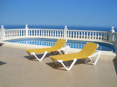 Photo for 4 Bed Villa with Pool & Spectacular Sea Views