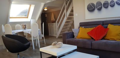Photo for Charming apartment in the heart of Morgat