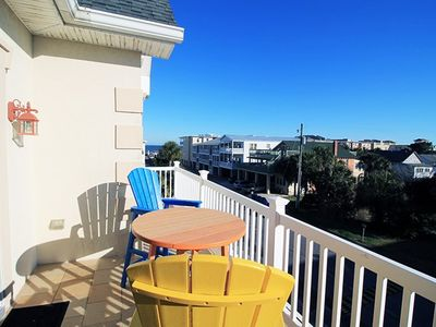 Photo for Seascape C - Deluxe Townhouse, Half a Block from the Beach - Small Dog Friendly