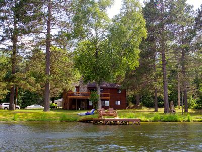 Photo for Beautiful Lake Home with 200 Feet of Private Frontage