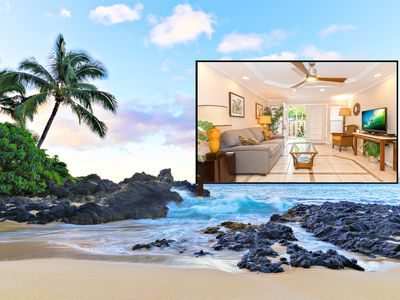 Photo for Beautiful Maui Apartment #3, located only steps away from Charley Young Beach