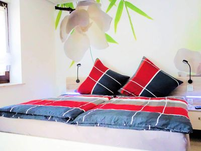 Photo for Deluxe Double Room No. 3 / 25m² / WC / shower / balcony - Silberburg