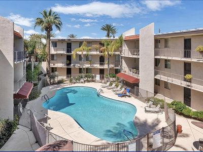 Photo for Arcadia Condo-Rare find-2 beds Community Pool. Discounts for long term renters.