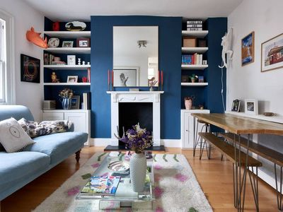 Photo for Chic duplex 1 bed West London flat w/roof terrace