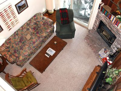 Photo for 1 Bedroom & Loft, 2 Full Bathrooms, Sleeps 6, Two Levels to enjoy for your Mammoth Lakes Vacation
