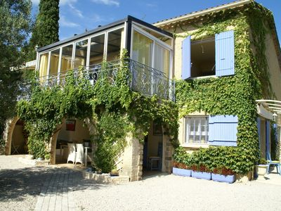 Photo for Fabulous holiday home with huge swimming pool and covered terrace close to Orange