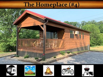 """Photo for """"The Homeplace (#4)"""" - Mountain View / WiFi / Fire Pit / Grill / Motorcycle Friendly"""